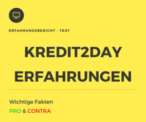 kredit2day test